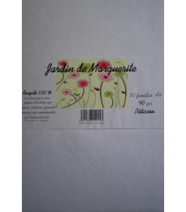 "packpapier farbig PATISSON A4 90g ""Jardin de Marguerite"""