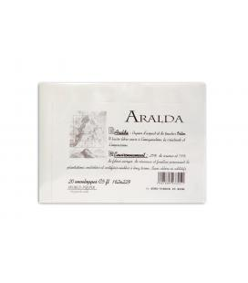 "20 envelopes ""ARALDA"" C5 162x229 100g"