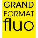 100 foils POSTER NEON YELLOW A3 110g