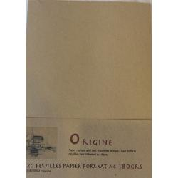 Rustique origine 180grs ft A4
